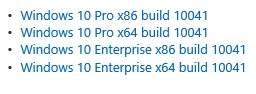 Creacion de imagen.ISO de Windows 10 build 9860 / 10041 (actualización)