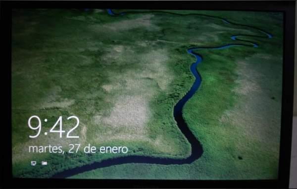 Nuevo Logon Screen en Windows 10 build 9926
