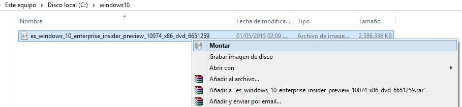 Preparando tu USB para Windows 10