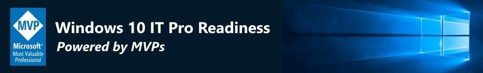 Windows 10 IT Pro Readiness – Powered by MVPs (LATAM)