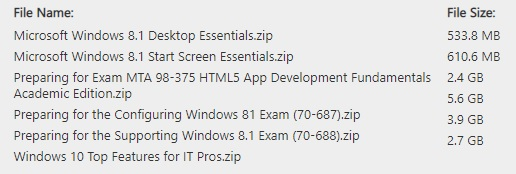 Online Learning Windows 8.1