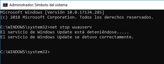 Eliminar Updates Pendientes en Windows 10