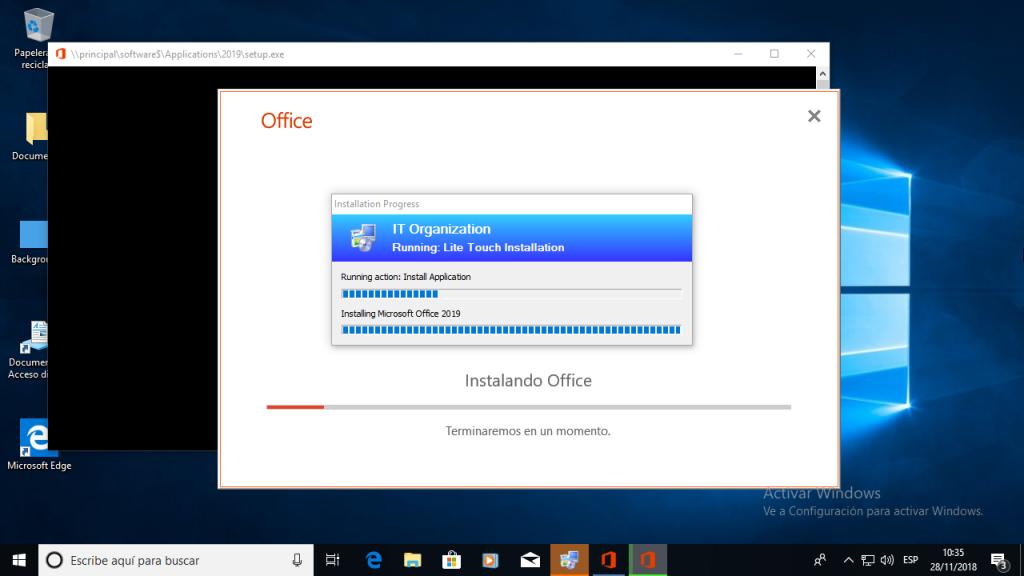 Implementar Office 2019 con las herramientas ODT y MDT