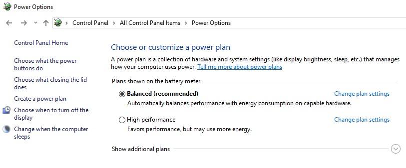 Configurar las Opciones de PowerManagement en Intune a traves de OMA-URI