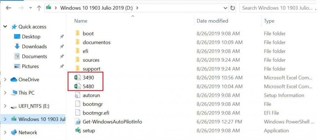 Usando Group Tag y Assigned User en archivo .CSV de Autopilot