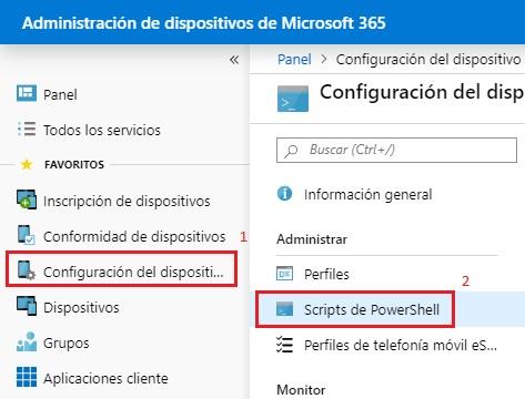 Agregar Informacion de OEM con Microsoft Intune