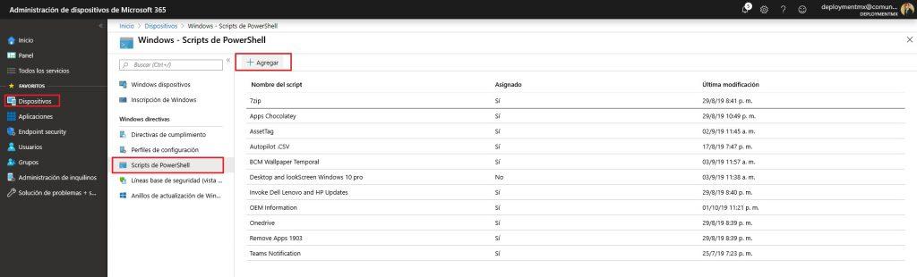Enviar notificacion de Voz a equipos de Windows 10 usando Intune