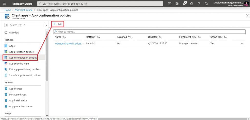 Cambiar el fondo de pantalla en dispositivos Android Enterprise administrados