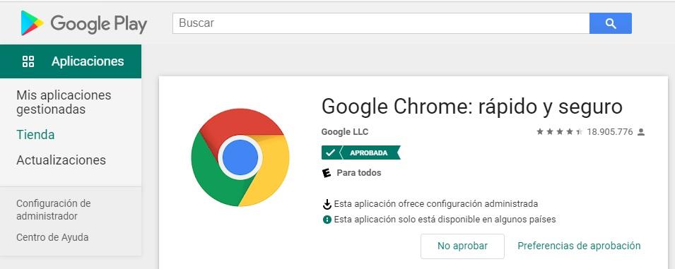 Configurar Google Chrome y Microsoft Edge en dispositivos Android Enterprise administrados con Microsoft Intune