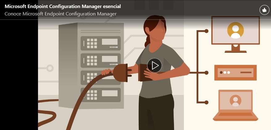 Curso de Microsoft Endpoint Configuration Manager esencial