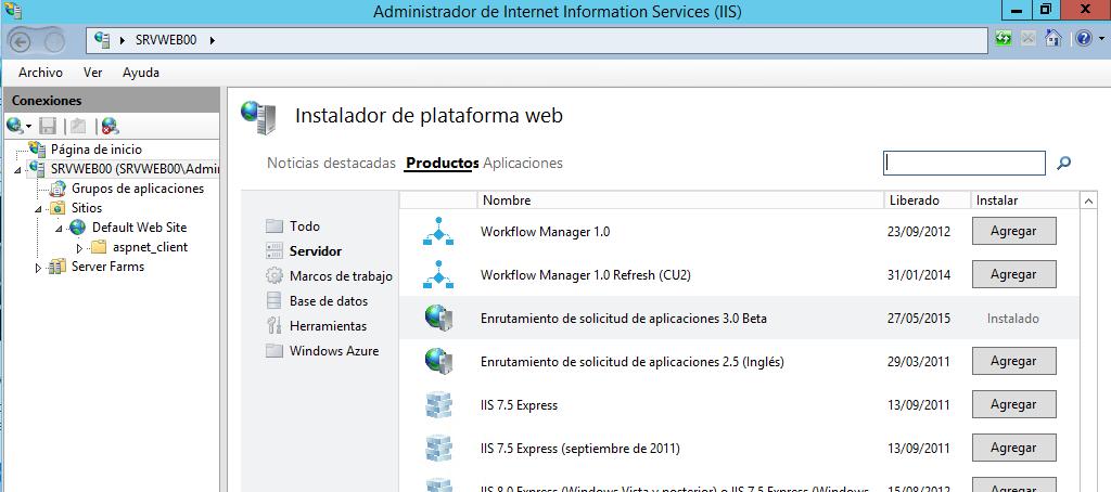 El Blog de Quilez » Internet Information Server: ARR